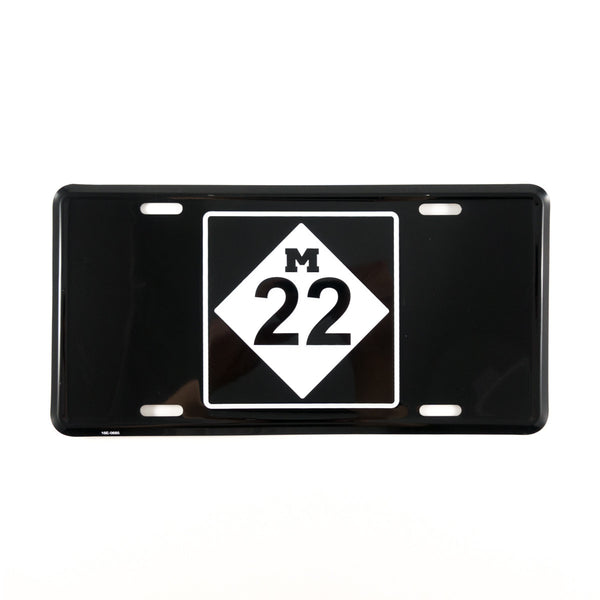 M22 LICENSE PLATE