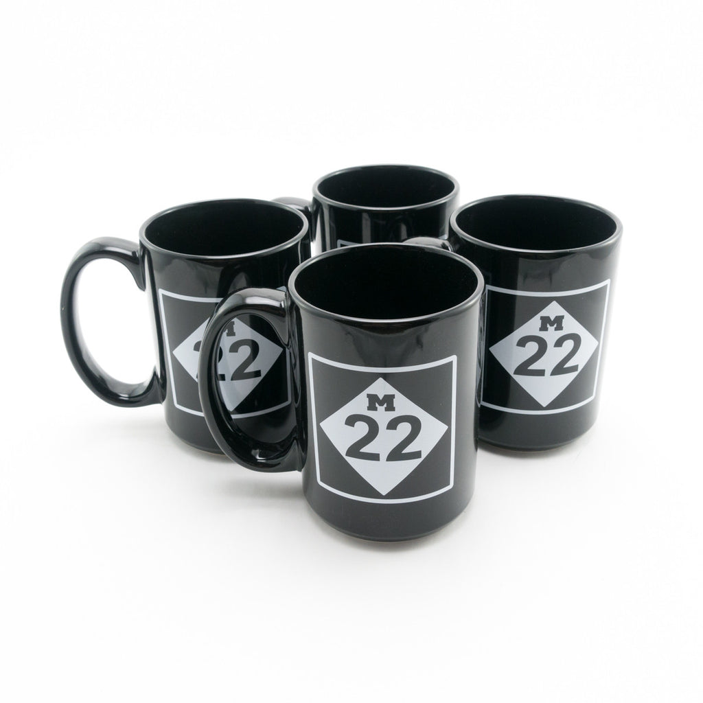 M22 CERAMIC MUG SET OF FOUR