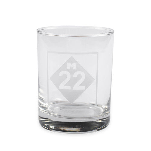 M22 ROCKS GLASS