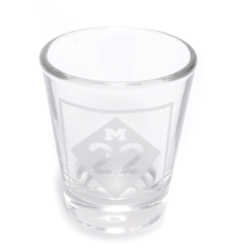 M22 SHOT GLASS
