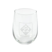 M22 STEMLESS WINE GLASS SET OF FOUR