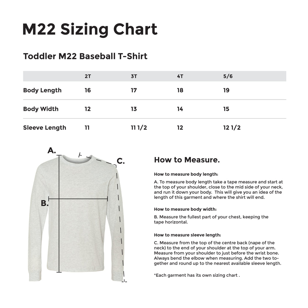 CLASSIC BASEBALL T-SHIRT TODDLER