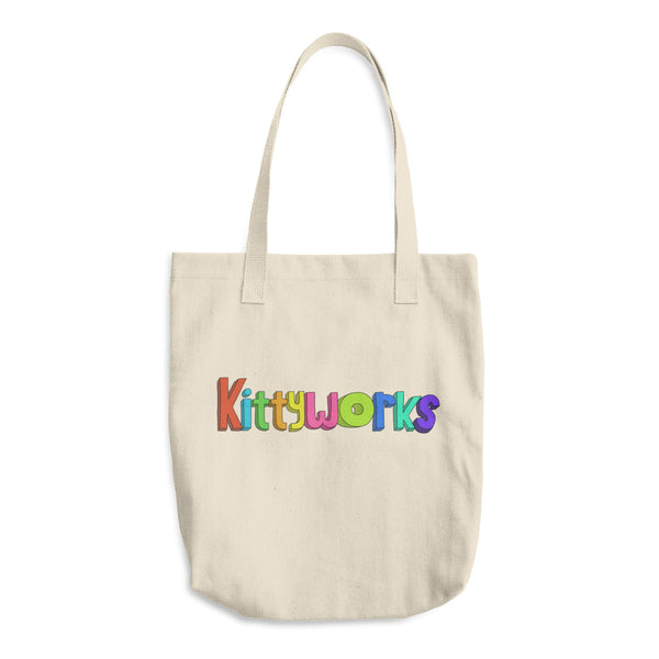 Kittyworks Logo - Cats Tote Bag - Cool Cat