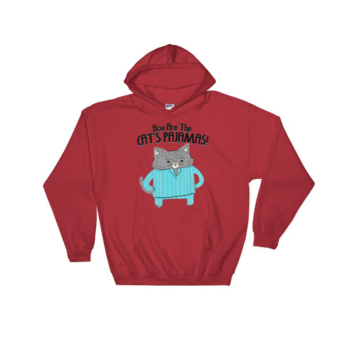 Cat's Pajamas -  Hoodie  -  Cute Cat (light color)