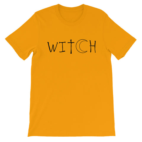 Witch - Halloween Costumes Men's T-Shirt - Scary Funny Tee (light colors)