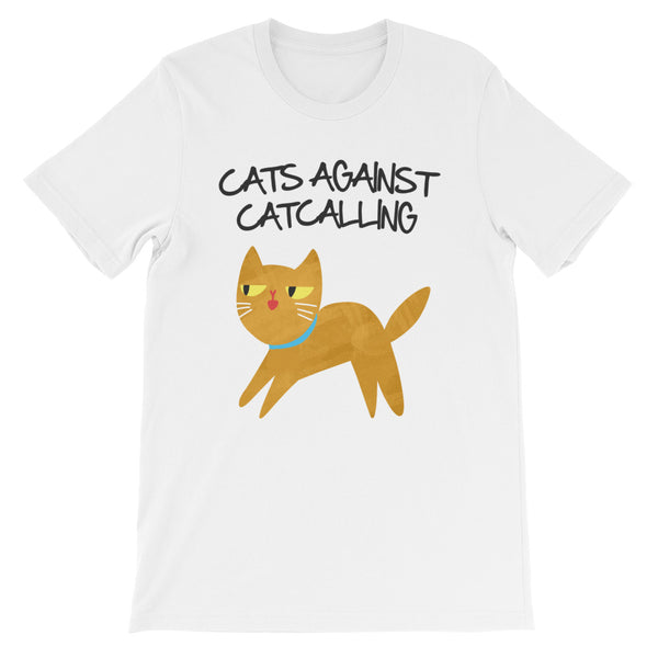 Cats Against Catcalling -  Cat Men's T-Shirt -  Anti Catcalls Tee