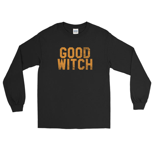 Good Witch - Halloween Costumes Long Sleeve T-Shirt - Funny Scary Tee (dark colors)