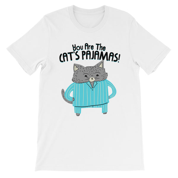 Cat's Pajamas -  Men's T-Shirt -  Cute Cat Tee (light colors)