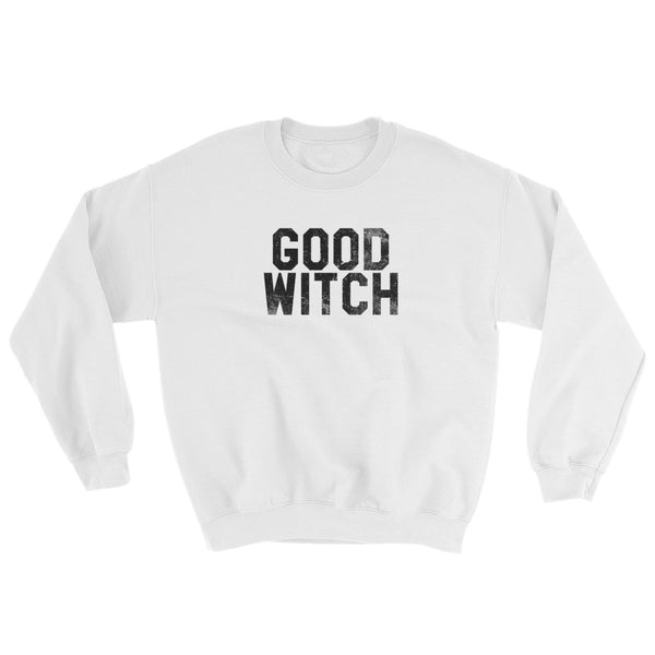 Good Witch - Halloween Costumes Sweatshirt - Scary Funny (light colors)