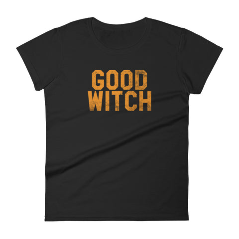 Good Witch - Halloween Costumes Women's T-Shirt - Funny Scary Tee (dark colors)
