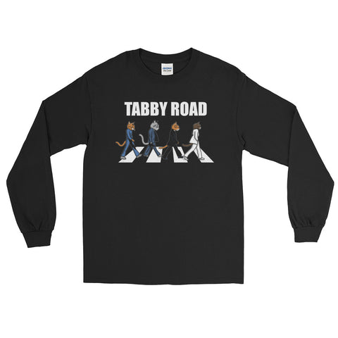Tabby Road Cats Long Sleeve Cool Cat Tee