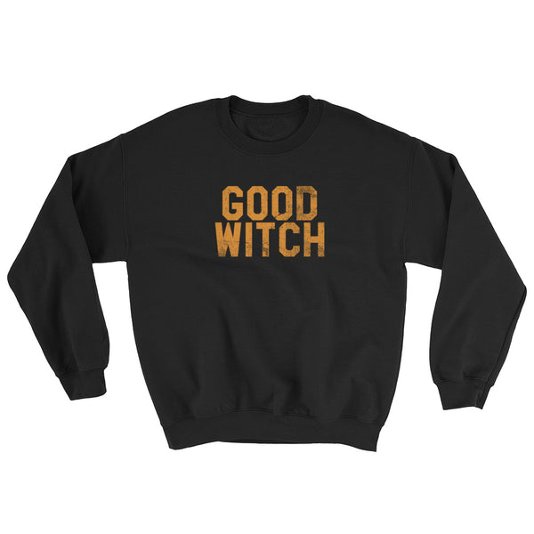 Good Witch - Halloween Costumes Sweatshirt - Scary Funny (dark colors)