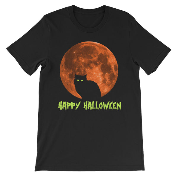 Happy Halloween Cat - Costumes Men's T-Shirt - Funny Scary Cats Tee