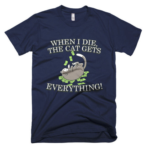 Men's T-Shirt - Cat Gets Everything