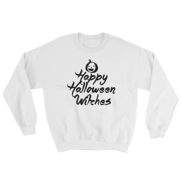 Happy Halloween Witches - Costumes Sweatshirt - Funny Scary (light colors)