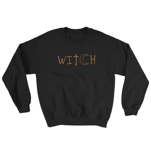 Witch - Halloween Costumes Sweatshirt - Scary Funny (dark colors)