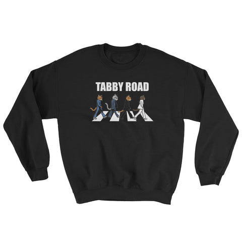 Tabby Road Cats Sweatshirt for Cool Cats
