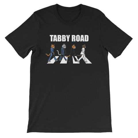 Tabby Road Cats Unisex T Shirt Cool Cat Tee