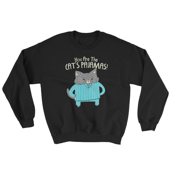 Cat's Pajamas -  Sweatshirt  -  Cute Cat (dark colors)