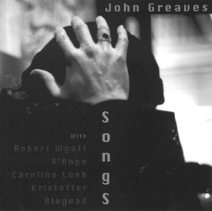 John Graves - Songs / Noise Asia / CD