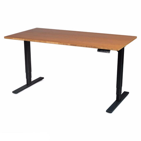 UPLIFT 900 Stand Up Desk with 1'' Thick Bamboo Top - Stand Up Desk Direct  - 1
