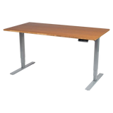 UPLIFT 900 Stand Up Desk with 1'' Thick Bamboo Top - Stand Up Desk Direct  - 2