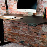 UPLIFT 900 Height Adjustable Standing Desk in Black Eco - Stand Up Desk Direct  - 5