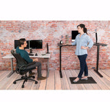 UPLIFT 900 Height Adjustable Standing Desk in White Laminate - Stand Up Desk Direct  - 3