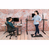 UPLIFT 900 Height Adjustable Standing Desk in Cherry Laminate - Stand Up Desk Direct  - 2
