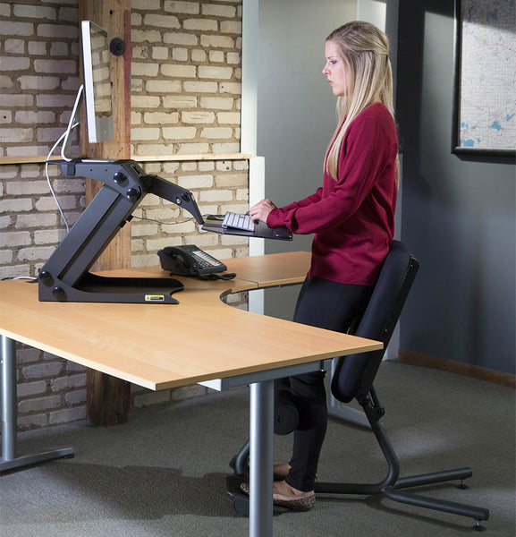 HealthPostures Ergonomic Sit-Stand Chair 5000 Stance Move 1