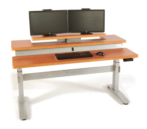 HealthPostures Standing Desk - Ergonomic Sit Stand Desk