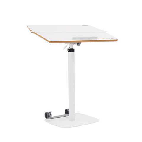 TCT Nanotec G-5 Ergonomic Laptop Desk Podium in White - Stand Up Desk Direct  - 1