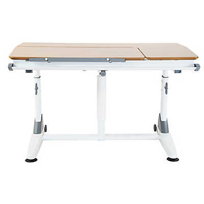 Kid 2 Youth G-6S Ergonomic Desk in Cherry/White - Stand Up Desk Direct  - 1