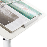 TCT Nanotec G5-XL Sit Stand Ergonomic Tilting Desk-White - Stand Up Desk Direct  - 8