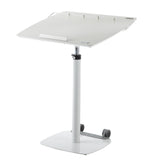 TCT Nanotec G5-XL Sit Stand Ergonomic Tilting Desk-White - Stand Up Desk Direct  - 1