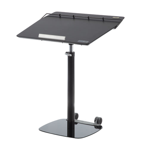 TCT Nanotec G5-XL Sit Stand Ergonomic Tilting Desk-Black - Stand Up Desk Direct  - 1