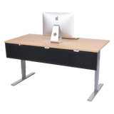 UPLIFT Desk Modesty Panel & Cable Management - Stand Up Desk Direct  - 2