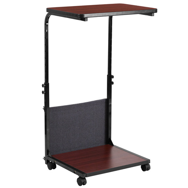 Mobile Height Adjustable Computer Desk - Stand Up Desk Direct  - 1