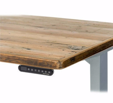 uplift 900 sit stand desk with reclaimed wood top stand up desk direct