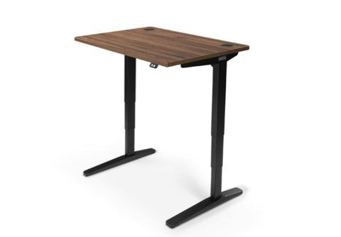 UPLIFT 900 Height Adjustable Standing Desk in Walnut Laminate