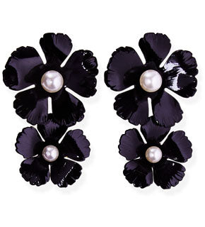 Coco Earrings with Pearls
