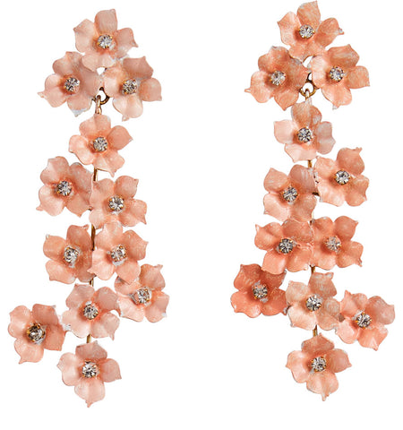 Cassiopia Earrings - Blush