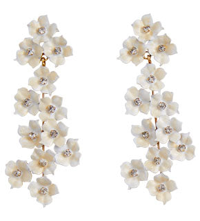 Cassiopia Earrings - Champagne