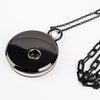 Pocket Watch Black & Silver