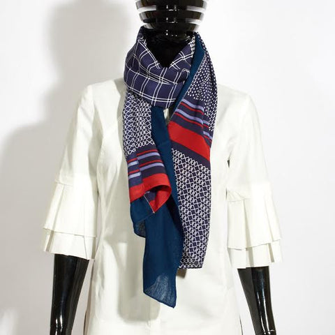 Jacky Silk and Cashmere Scarf