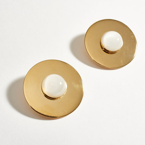 """Bulle"" Earrings - Gold"