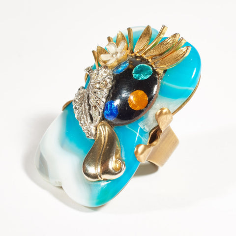 Cocktail Ring - Turquoise