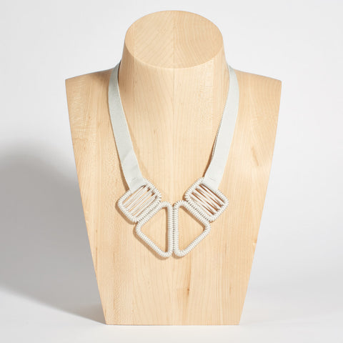 Short Woven Necklace