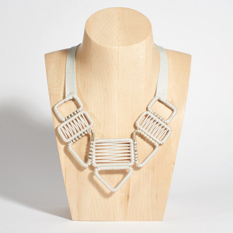 Statement Woven Necklace