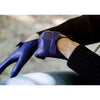 Josie Leather Gloves - Purple